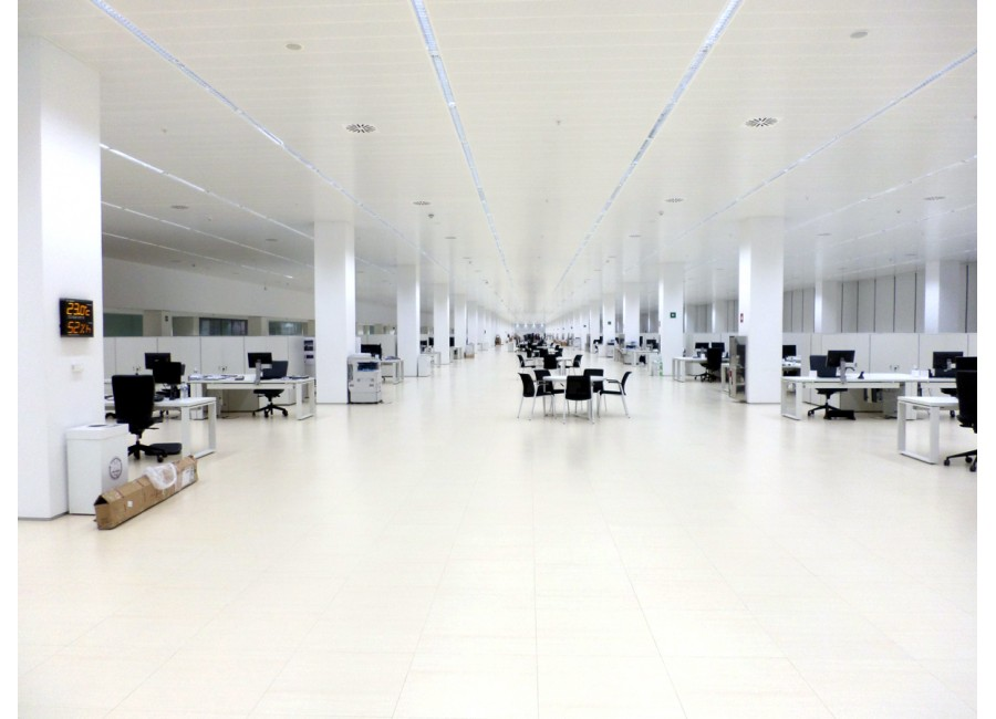 Electrical Installations In Office Building At Inditex Logistics Center, Phase III