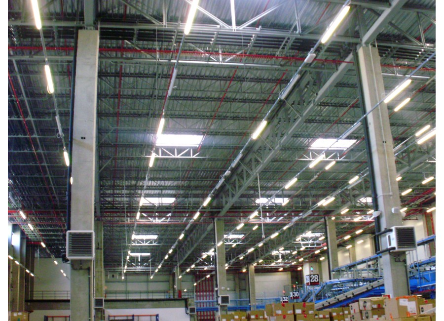 Electrical Installations In Inditex Logistics Center, Phase III